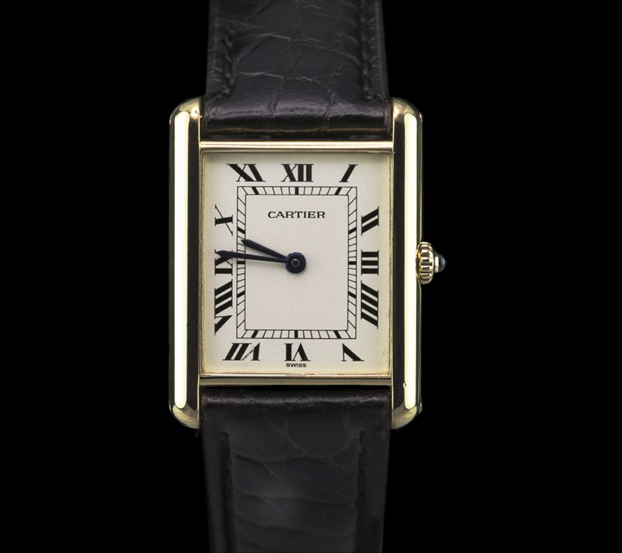 Cartier_Tank_18k_Yellow_Gold_Ladies