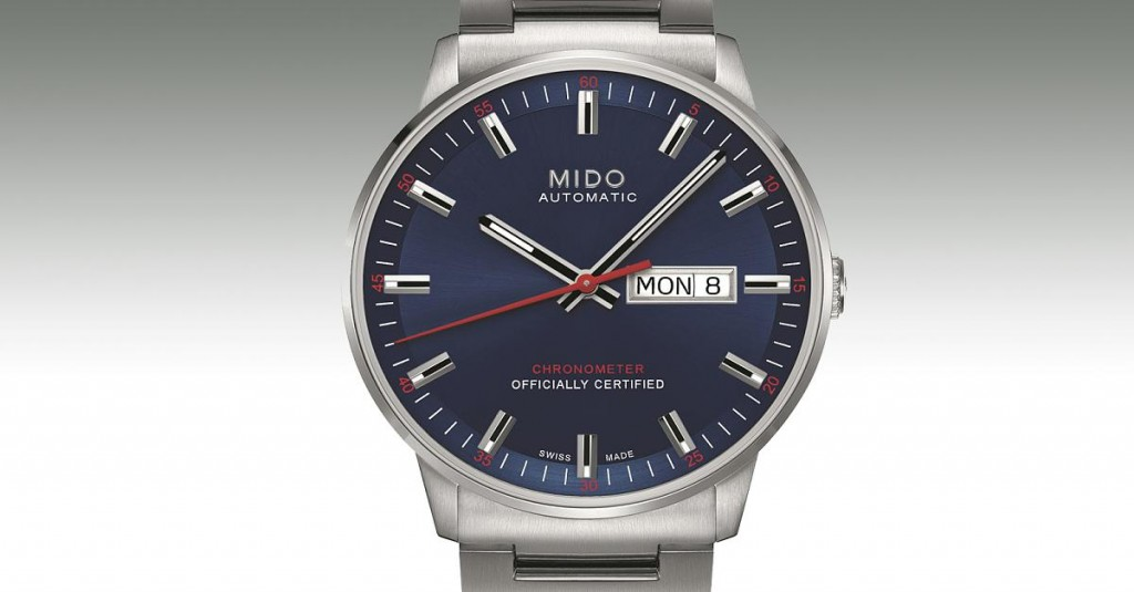 mido-commander-fake-watches