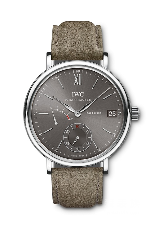 The special slate-gray dial that IWC used for the first time make the watch more fascinating.