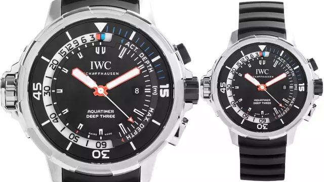 The powerful IWC dive watches are with distinctive design and will attract strong men wearers.