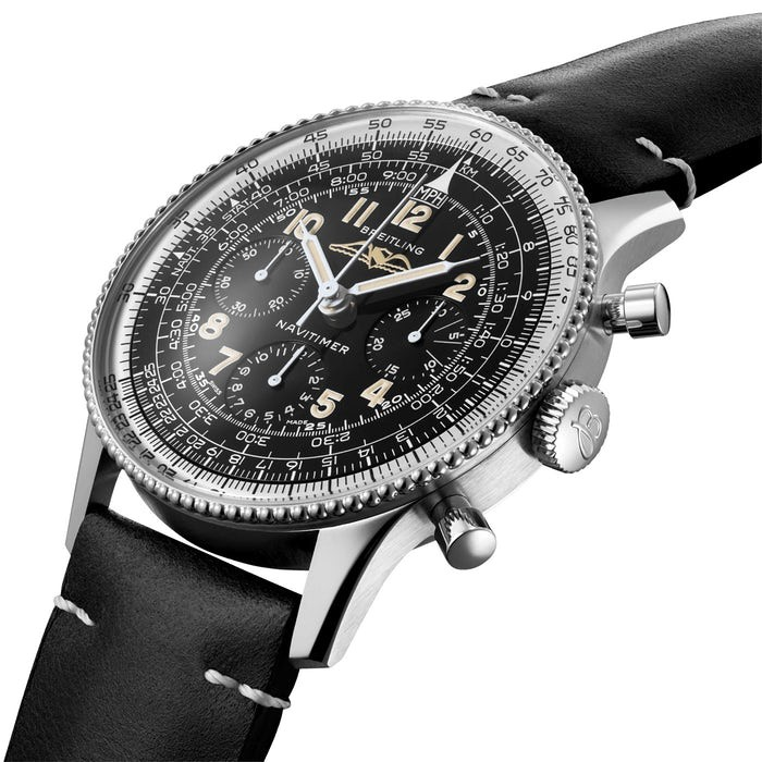 The new Breitling Navitimer has maintained all the iconic features of the original model.