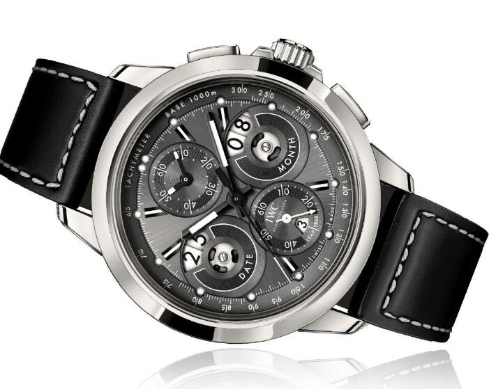 The timepiece is with the complicated function - perpetual calendar.