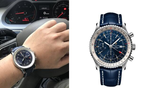 Breitling Navitimer becomes one of the most attractive models for men.