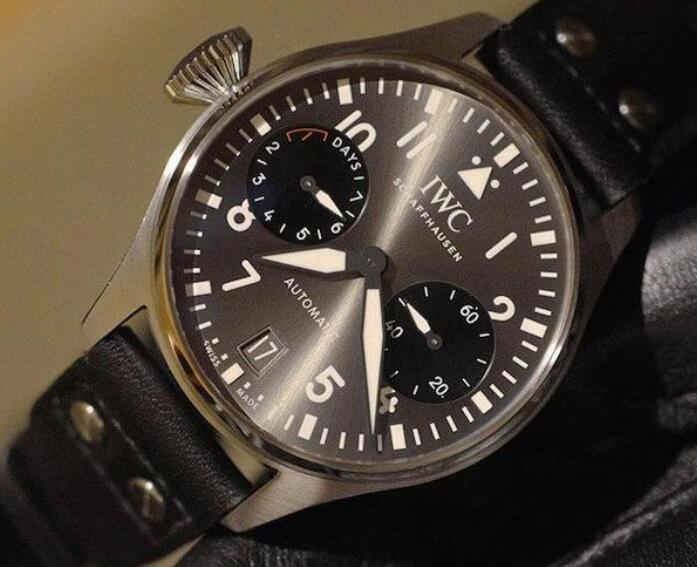 The IWC Big Pilot's watches have been favored by numerous strong men.