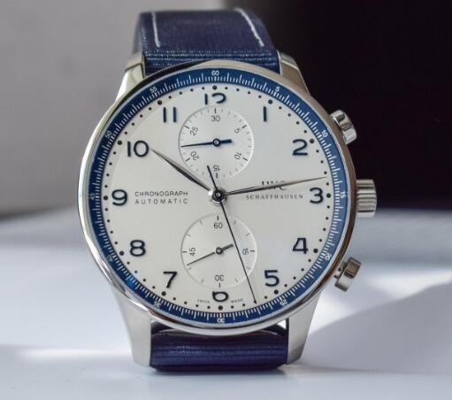 The appearance of IWC Portugieser Blue special edition is amazing.